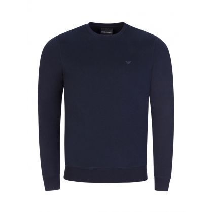 Navy Crew Neck Sweatshirt