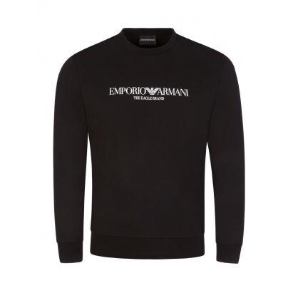 Black Eagle Brand Logo Sweatshirt