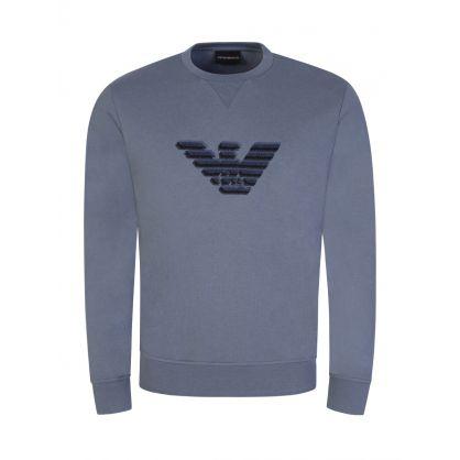 Grey Dashed Eagle Sweatshirt