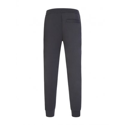 Grey Jacquard Logo Sweatpants