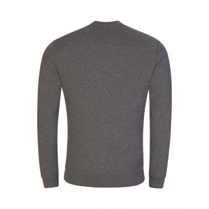 Grey Melange Logo Sweatshirt