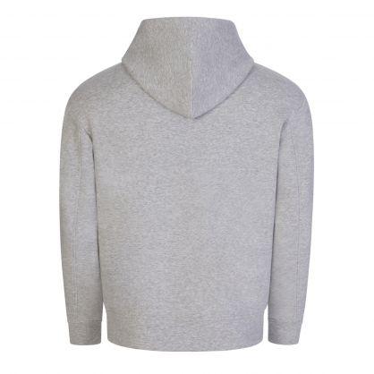Grey R-EAcreated Hooded Zip-Through