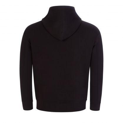 Black R-EAcreate Hooded Zip-Through