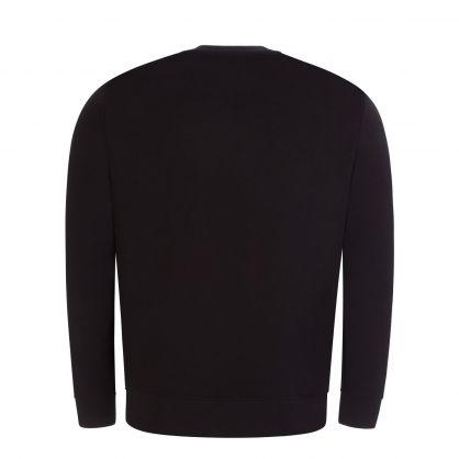 Black R-EAcreate Logo Sweatshirt