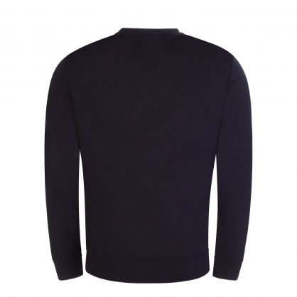 Navy Eagle Logo Essential Sweatshirt