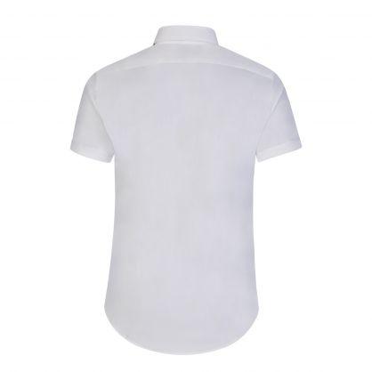 White Cotton Stretch Shirt
