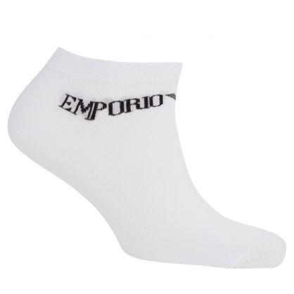 White Inside Socks 3-Pack