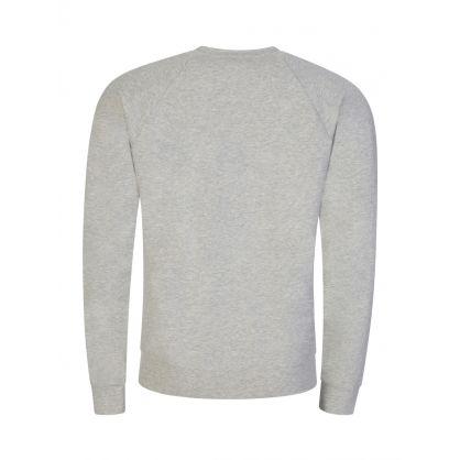 Grey Classic Loungewear Sweatshirt
