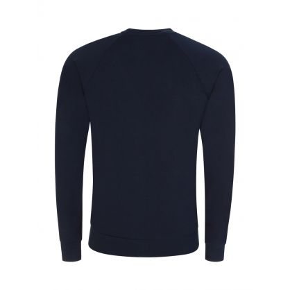 Navy Lounge Sweatshirt