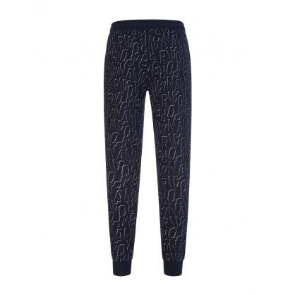 Navy Logo Lounge Sweatpants