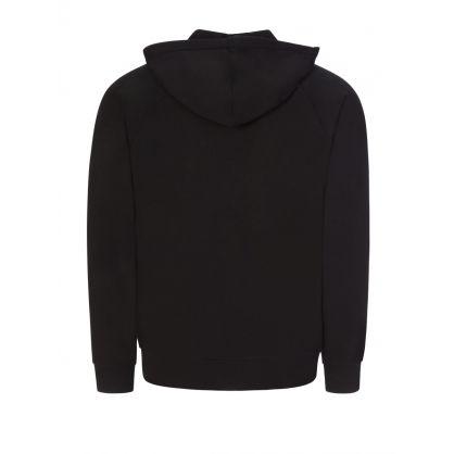Black Lounge Hooded Zip-Through