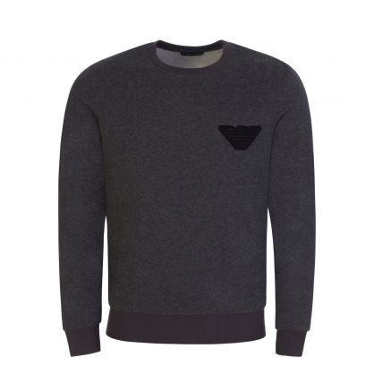 Grey Melange Lounge Sweatshirt