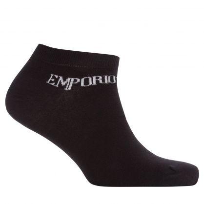 Grey/White/Black Cotton Inside Socks 3-Pack