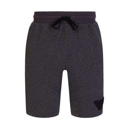 Grey Melange Lounge Shorts