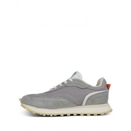 Grey Crease Runner Wind Trainers