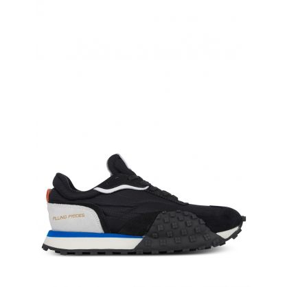 Black Crease Runner Wind Trainers