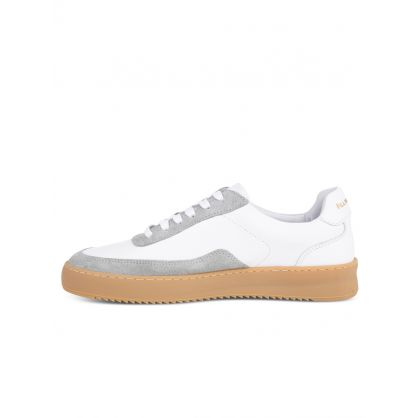 White Mondo Ripple Carye Trainers