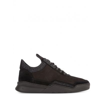 All Black Low Top Ghost Decon Trainers