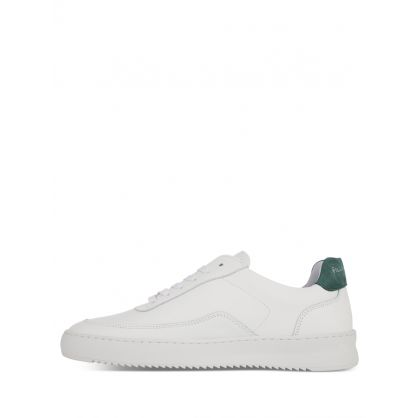 White/Green Mondo 2.0 Ripple Trainers