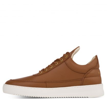 Brown Low-Top Crumbs Trainers