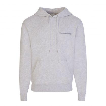 Grey Melange Popover Hoodie