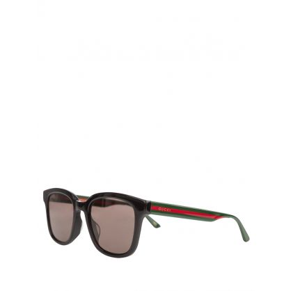 Black/Green Set M Polarised Sunglasses