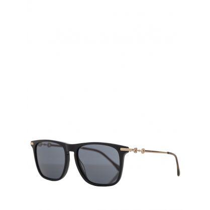 Black/Brown Set M Sunglasses