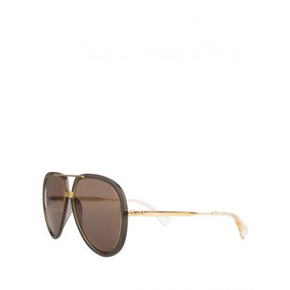Grey/Gold Set M Sunglasses