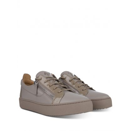 Grey Low-Top Birel/Vague Trainers