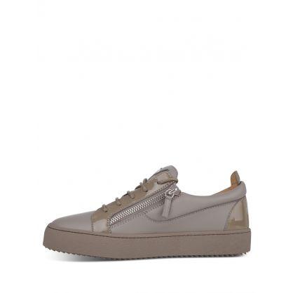 Grey Low-Top Birel/Vague Trainers