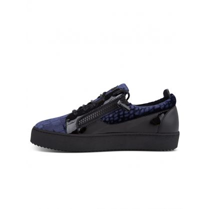 Navy Low-Top Meredith Trainers