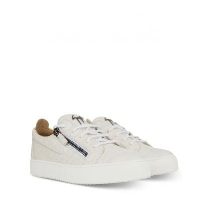 Beige Low-Top Koi Trainers