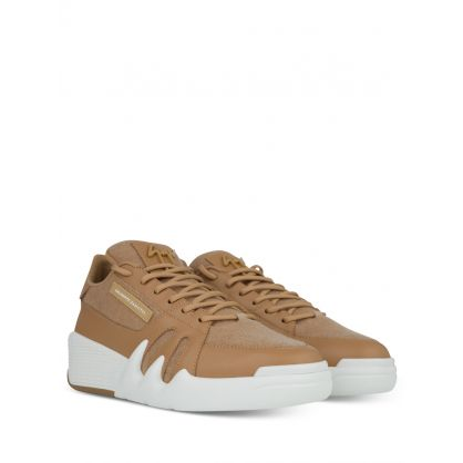 Beige Low-Top Talon Trainers