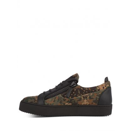 Camouflage Frankie Trainers