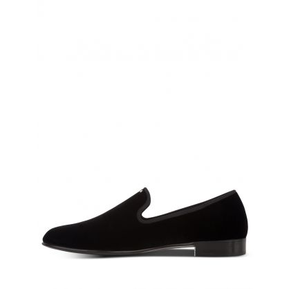 Black Veronica Loafers