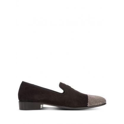 Black Camoscio Shoes