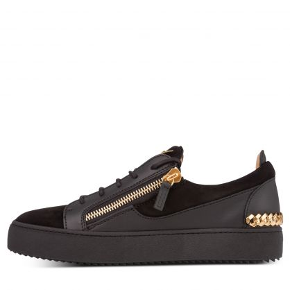 Black May Chain Back Trainers