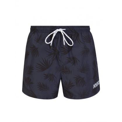 Navy Mykonos Swim Shorts