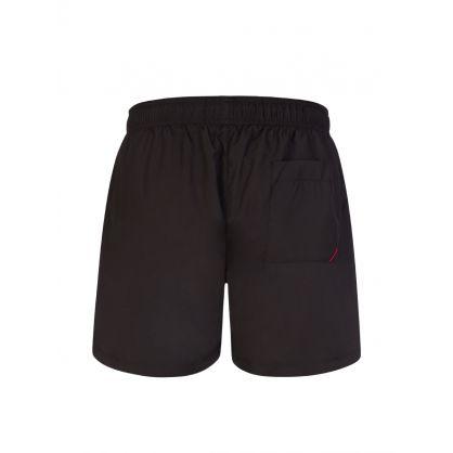 Black/White Haiti Swim Shorts