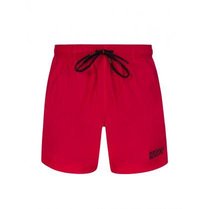 Red Haiti Swim Trunks