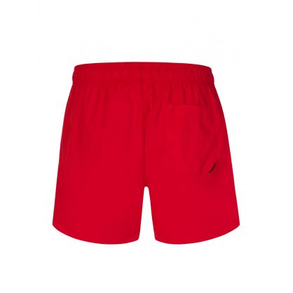 Red Abas Swim Shorts