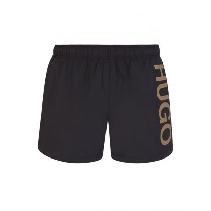 Black Abas Swim Shorts