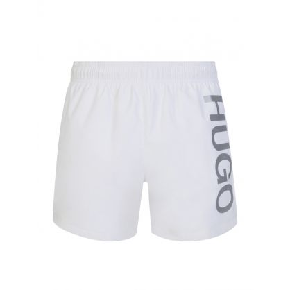 White Abas Swim Shorts