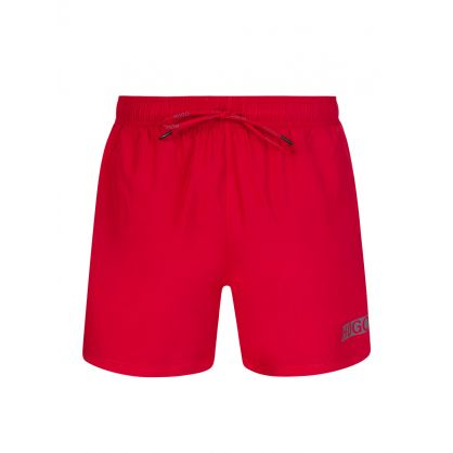 Red Mens Haiti Swim Shorts