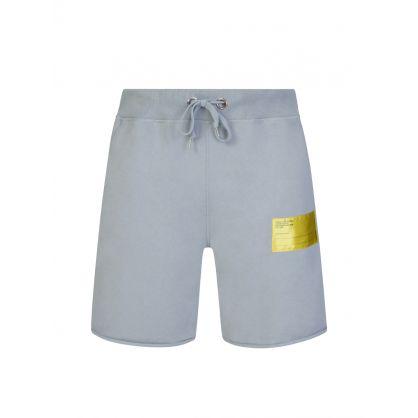 Grey Patch Logo Shorts