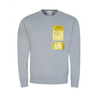 Grey Patch Logo Sweatshirt