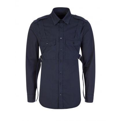 Navy Parachute Shirt