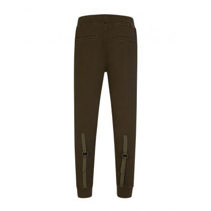 Green Strap Sweatpants
