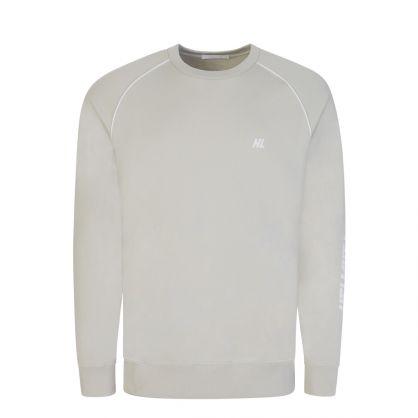 Grey Raglan Sleeve Sweatshirt