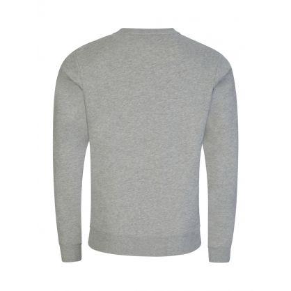 Grey Logo Tape Lounge Sweatshirt